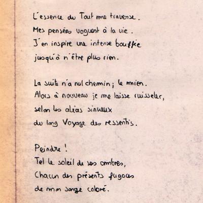 Vignette pour accéder à la galerie de poèmes de Lucien Bechowski