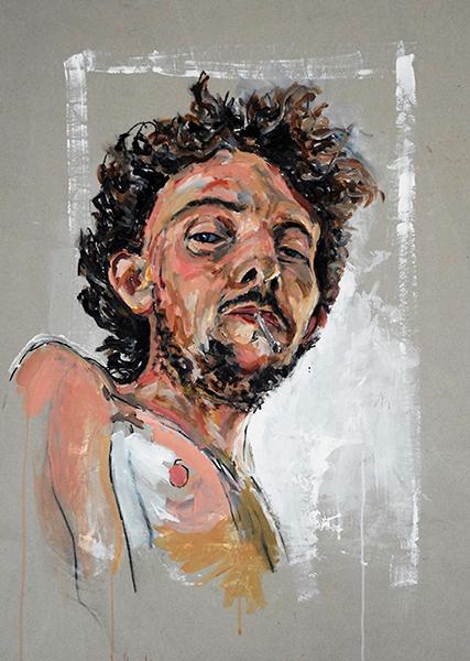 Smëms, Autoportrait, sommaire de la galerie d'Autoportraits