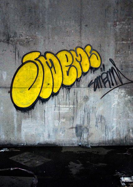 Smëms, Flop, sommaire de la galerie Graffitis