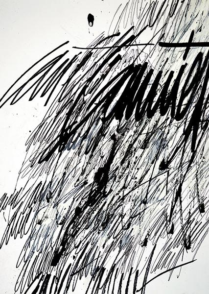 Gouniet, Accumulation de signatures, sommaire de la galerie Mégalonymanies
