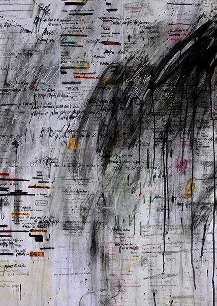 Gouniet, Abstraction gestuelle sur to do list, sommaire de la galerie To do niest list