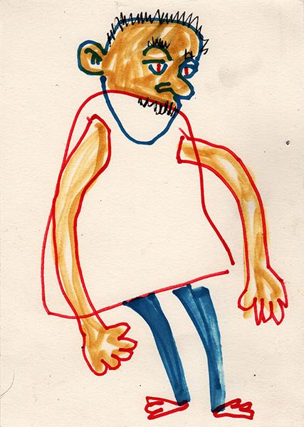 Gro, dessin d'enfant, sommaire de la série Bé Prebié Bodob