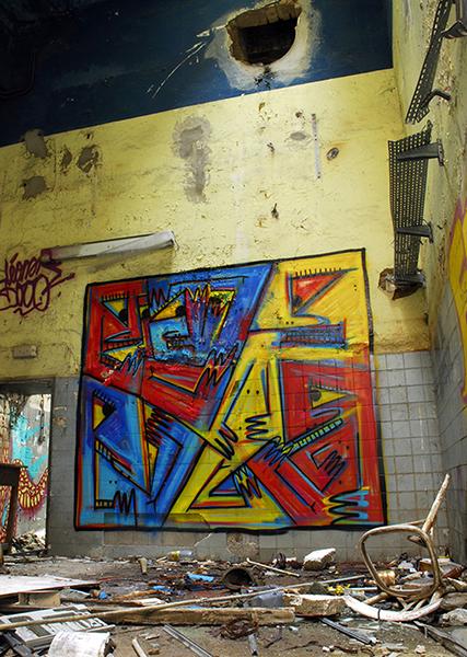 Gro, Graffiti cubiste, sommaire de la galerie Groffitis