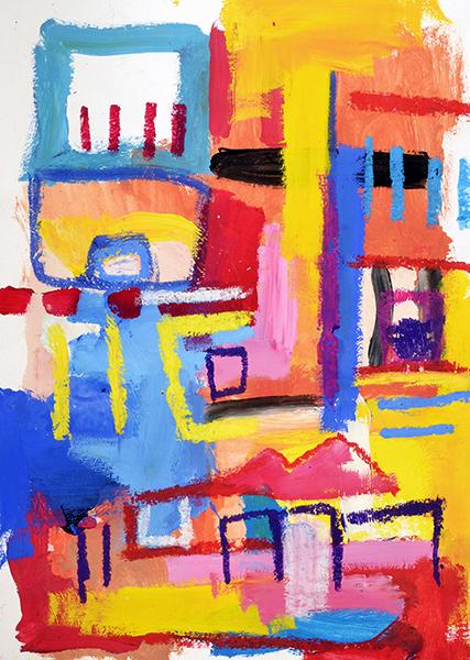 Gro, Figure primitive abstraite, sommaire de la série Gromitivism