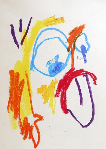Gro, Personnage tirant la langue, sommaire de la série Lé Bizareri