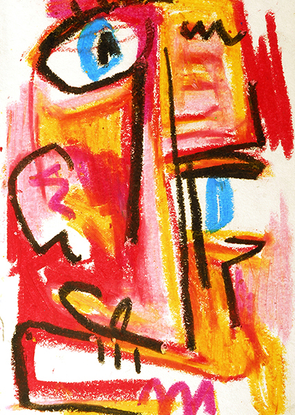 Gro, Figure d'inspiration primitiviste, sommaire de la série Le Grofikmen povr