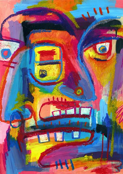 Gro, Figure colorée décomposée, sommaire de la série Santitr Roz