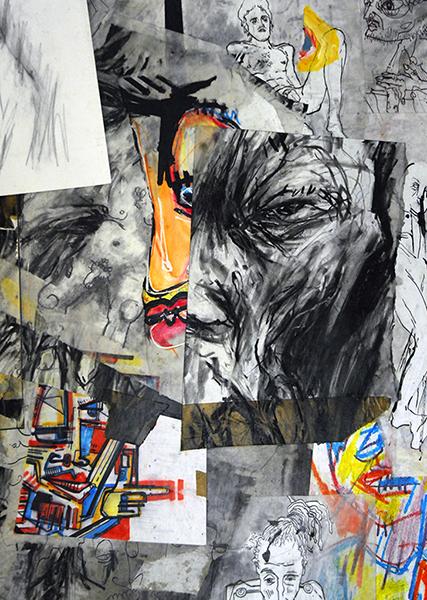 SGG, Composition de dessins, sommaire de la galerie La Perte de Smëms
