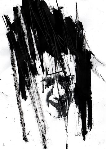 Image de profil de Gouniet, Autoportrait narcissique d'introduction de la Galerie de Portraits