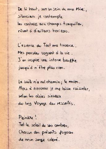 Image de profil de Lucien Bechowski, poème d'introduction de la Galerie de Portraits